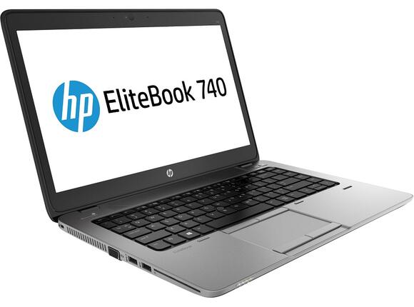 "Лаптоп HP EliteBook 740 G1, i3-4030U, 14"", 4GB, 500GB, Win 7 Pro"
