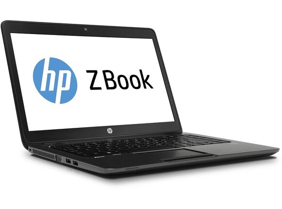 "Лаптоп HP ZBook 14 Mobile Workstation, i7-4600U, 14"", 8GB, 256GB, Win 7 Pro 64bit - 2"