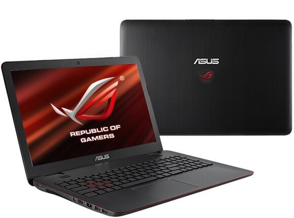 "Лаптоп ASUS G551JW-CN122T, i7-4720HQ, 15.6"", 16GB, 1TB, Win 10"