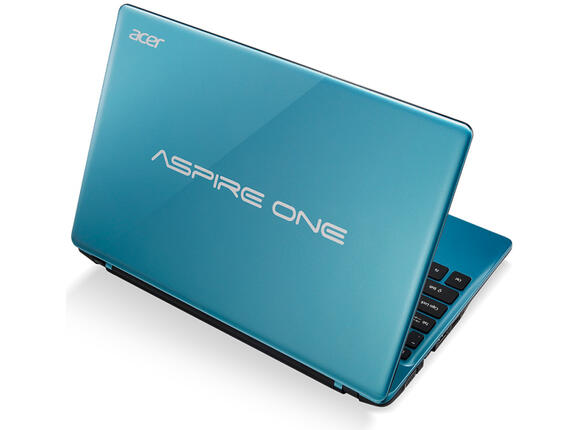 "Лаптоп ACER Aspire One, AO725-C7CBB, C-70, 11.6"", 4GB, 500GB"