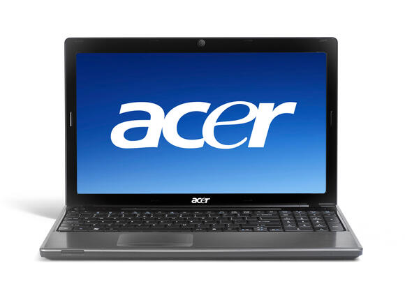 Лаптоп ACER AS5745G-5454G64MNKS, i5-450M, 15.6'', 4GB, 640GB, Win7