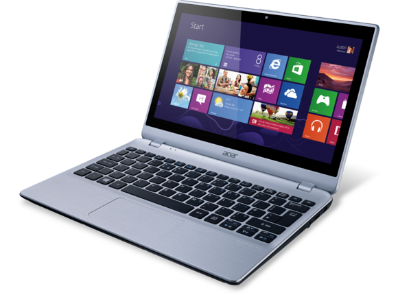 "Лаптоп Acer Aspire V5-122P-61456G50nss, A6-1450M, 11.6"", 6 GB, 500GB, Win8"