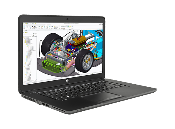 "Лаптоп HP ZBook 15u G2 Mobile Workstation, i7-5500U, 15.6"", 16GB, 512GB, Win 7 Pro 64"