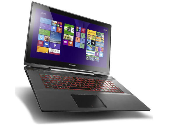 "Лаптоп Lenovo Y70-70 /80DU003GBM/, i7-4710HQ, 17.3"", 8GB, 1TB, Win 8.1"