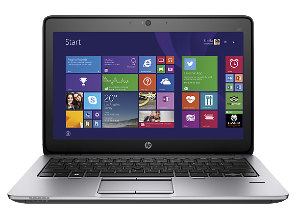 "Лаптоп HP EliteBook 820 G2 Notebook PC, i5-5300U, 12.5"", 8GB, 256GB, Win 7 Pro 64"