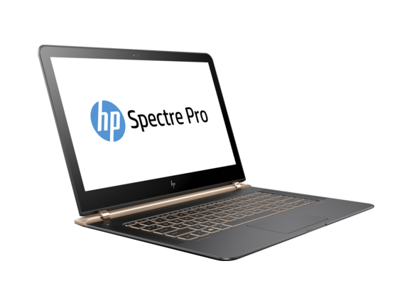 "Лаптоп Лаптоп HP Spectre Pro 13 G1 Notebook PC, i5-6200U, 13.3"", 8GB, 256GB, Win 10"