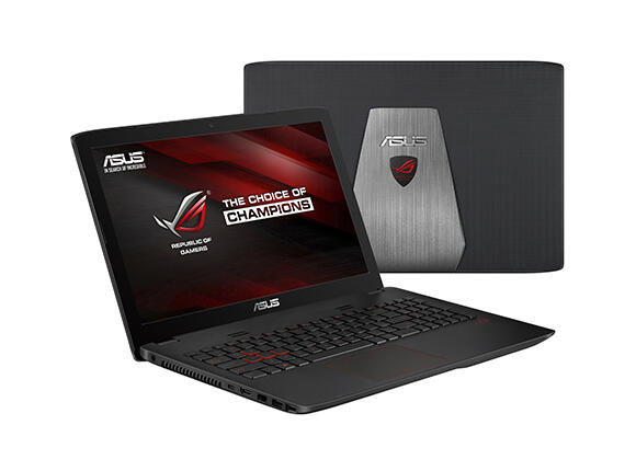 "Лаптоп ASUS GL552VW-DM210T, i7-6700HQ, 15.6"", 8GB, 1TB + 128GB SSD, Win10"