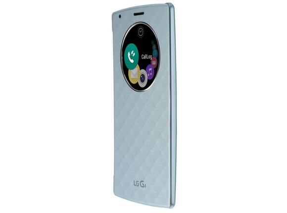 Калъф LG Quick Circle Replacement Case G4 Blue - 3