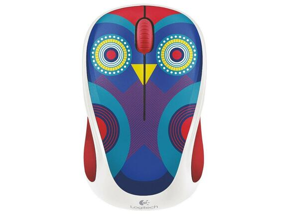Мишка Logitech Wireless Mouse M238 Play Collection - Owl