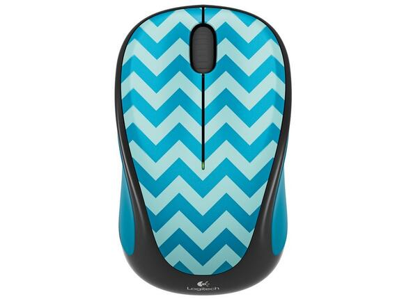 Мишка Logitech Wireless Mouse M238 Play Collection - Teal Chevron - 2