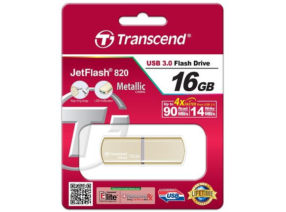 Флаш памет Transcend 16GB JETFLASH 820 - 3