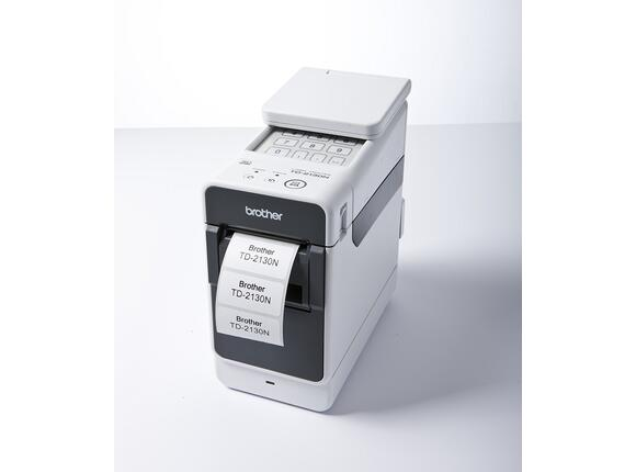 Етикетен принтер Brother TD-2130N Professional Barcode Label Printer - 3