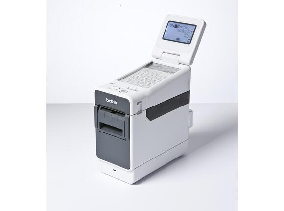 Етикетен принтер Brother TD-2130N Professional Barcode Label Printer - 2