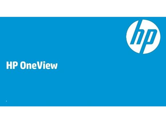 Софтуер HP OneView Upgrade w/ 3yr 24x7 Phys 1 Svr Lic