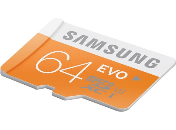 Флаш карта Samsung 64GB micro SD Card EVO with USB2 Adapter Class10 - 3