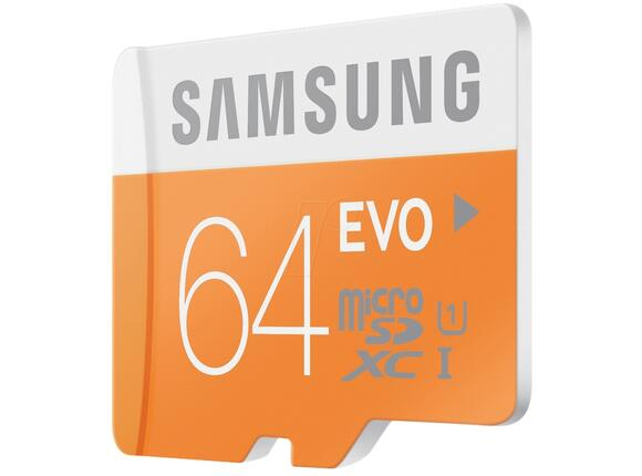 Флаш карта Samsung 64GB micro SD Card EVO with USB2 Adapter Class10 - 2