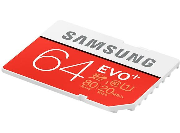 Флаш карта Samsung SD card EVO+ series - 4