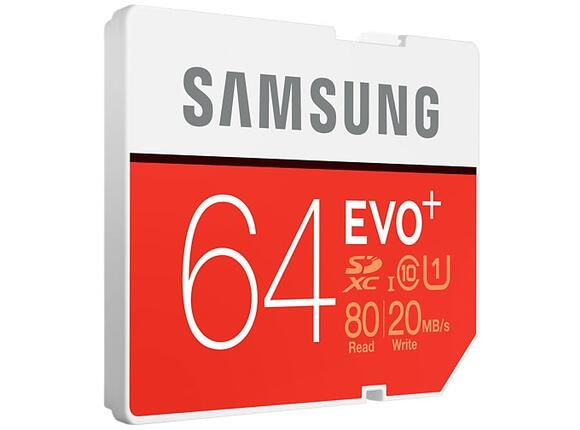 Флаш карта Samsung SD card EVO+ series - 2