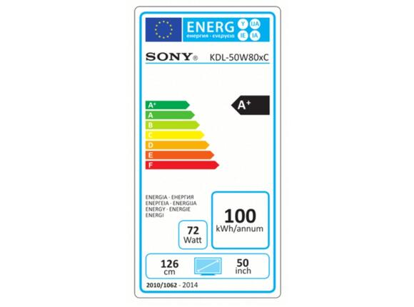 "Телевизор Sony KDL-50W805C 50"" 3D FULL HD - 2"