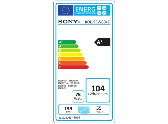 "Телевизор Sony KDL-55W807C 55"" 3D Full HD LED Android TV BRAVIA - 2"