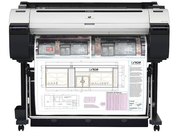 Плотер Canon imagePROGRAF iPF770 including Stand