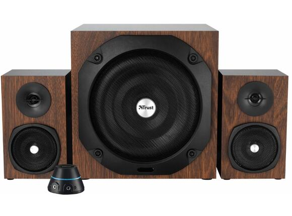 Тонколони TRUST Vigor 2.1 Subwoofer Speaker Set - wood - 2