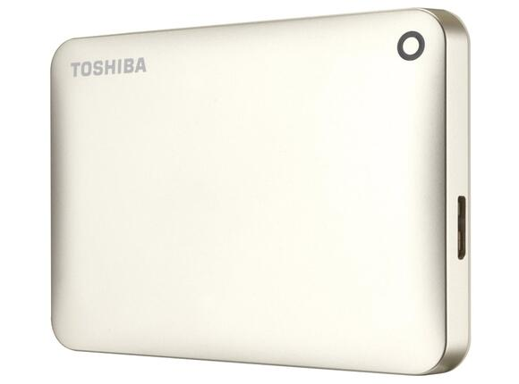 "Твърд диск Toshiba ext. drive 2.5"" Canvio Connect II 500GB gold"