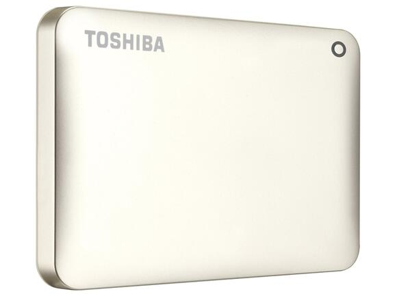 "Твърд диск Toshiba ext. drive 2.5"" Canvio Connect II 500GB gold - 2"