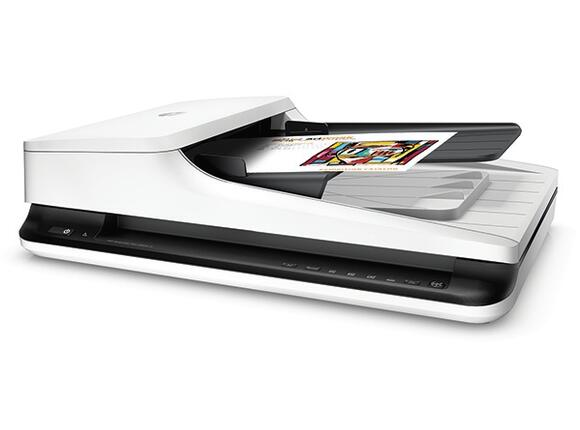 Скенер HP ScanJet Pro 2500 f1 Flatbed Scanner - 3