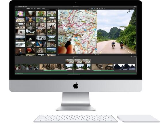 "Компютър Apple iMac 27"" QC i5 3.2GHz Retina 5K/8GB/1TB Fusion Drive/AMD R9 M390 2GB/BUL KB - 2"
