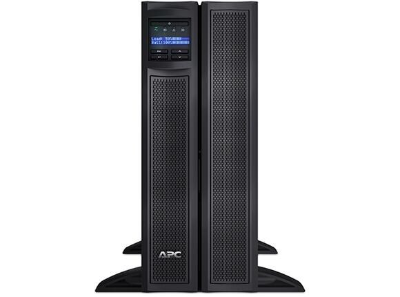 UPS APC Smart-UPS X 3000VA Short Depth Tower/Rack Convertible LCD 200-240V with Network Card - 3