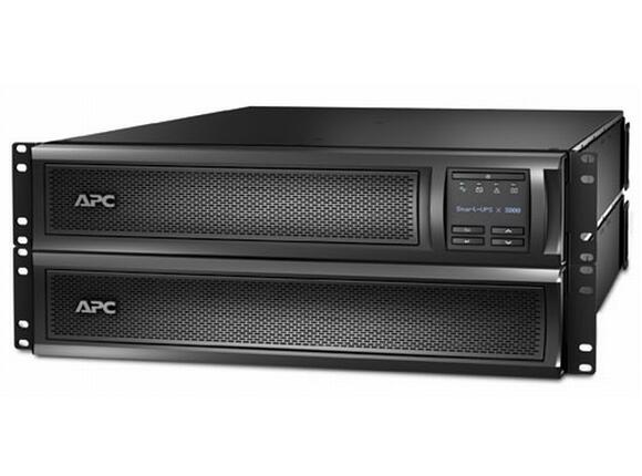 UPS APC Smart-UPS X 3000VA Rack/Tower LCD 200-240V with Network Card - 4