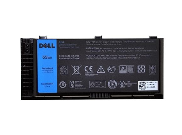 Батерия Dell Primary 6-Cell 65W/HR LI-ION Battery for Precision M4800 / M6800