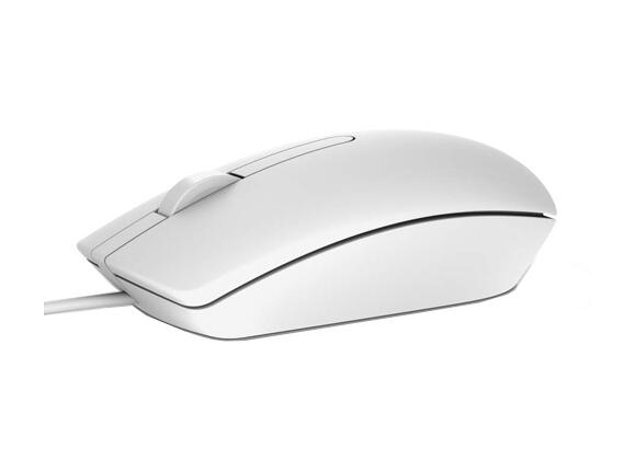 Мишка Dell MS116 Optical Mouse White