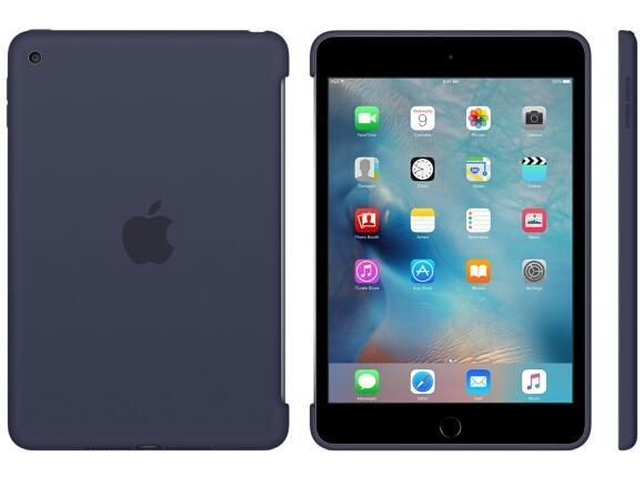 Калъф Apple iPad mini 4 Silicone Case - Midnight Blue - 3