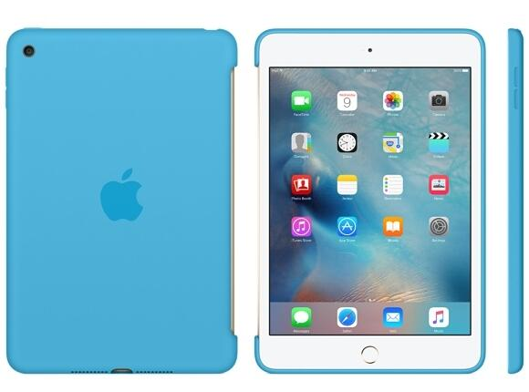 Калъф Apple iPad mini 4 Silicone Case - Blue - 2