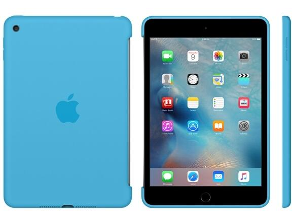 Калъф Apple iPad mini 4 Silicone Case - Blue - 3