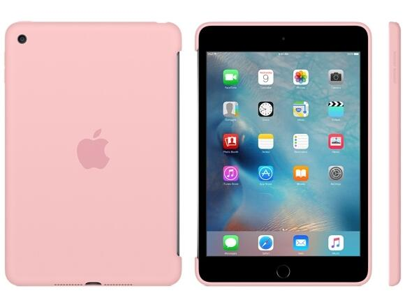 Калъф Apple iPad mini 4 Silicone Case - Pink - 3