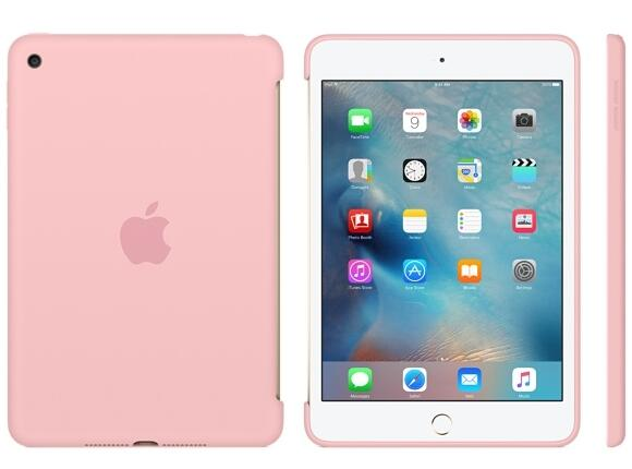 Калъф Apple iPad mini 4 Silicone Case - Pink - 2