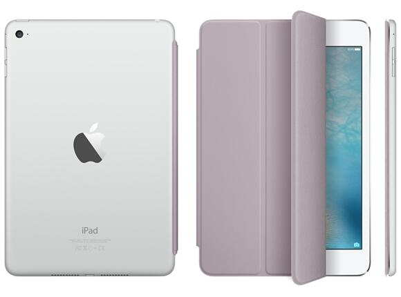 Калъф Apple iPad mini 4 Smart Cover - Lavender - 3