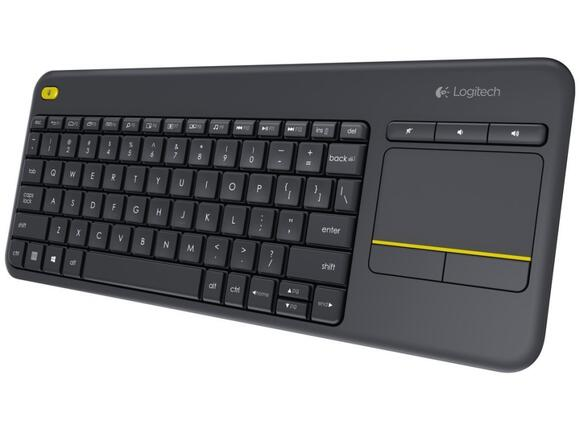 Клавиатура Logitech Wireless Touch Keyboard K400 Plus Black