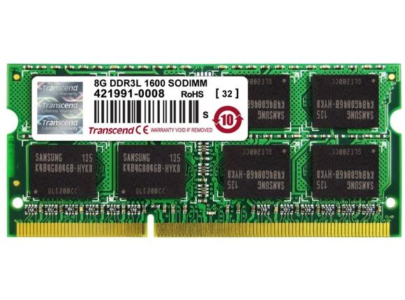 Памет Transcend 8GB DDR3 1600 SO-DIMM 2Rx8
