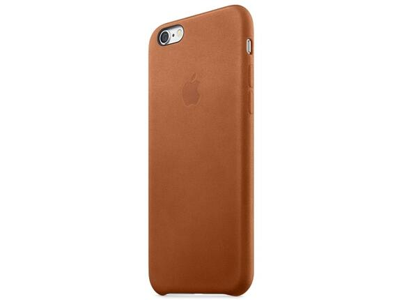 Калъф Apple iPhone 6s Leather Case - Saddle Brown - 4