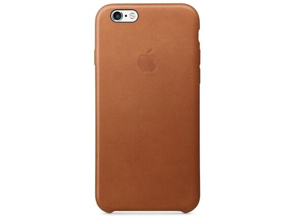 Калъф Apple iPhone 6s Leather Case - Saddle Brown - 5