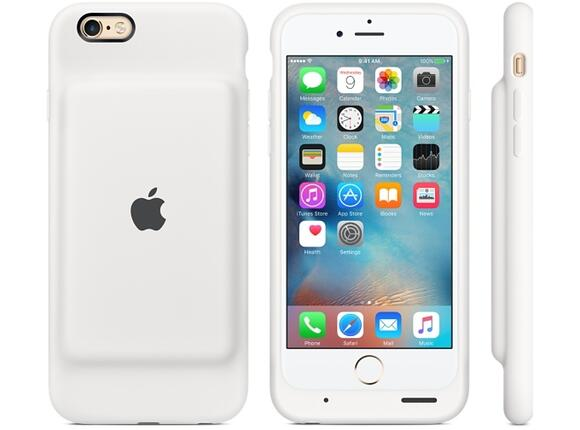 Калъф Apple iPhone 6s Smart Battery Case - White