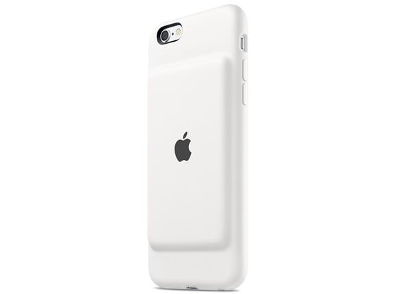 Калъф Apple iPhone 6s Smart Battery Case - White - 3