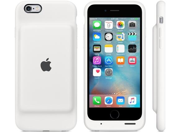 Калъф Apple iPhone 6s Smart Battery Case - White - 2