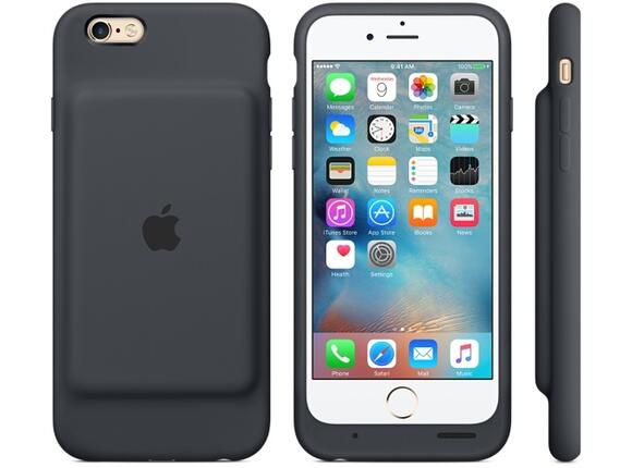 Калъф Apple iPhone 6s Smart Battery Case - Charcoal Gray