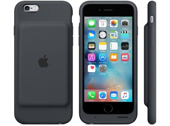 Калъф Apple iPhone 6s Smart Battery Case - Charcoal Gray - 3