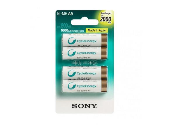 Батерия Sony NHAAB4KN Rechargeables 4xAA 2000 mAh Ready To Use - 2
